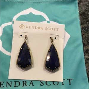 Kendra Scott Blue Lapis Carla Earrings